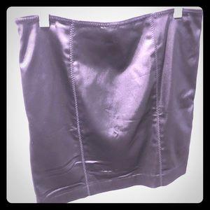 Black Betsy Johnson Mini with corset detail